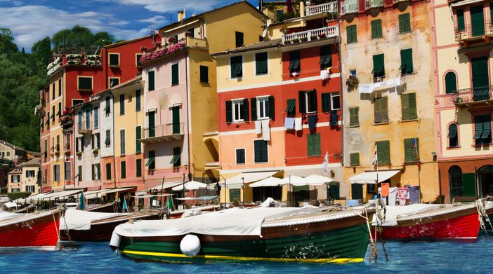 Cruising the Italian riviera