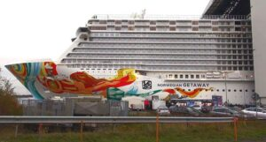 The newest NCL ship in the fleet