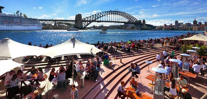 Enjoying beautiful Sydney - Cruises around Australia and New-Zealand 2015