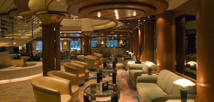 Hall-in-a-cruise-ship