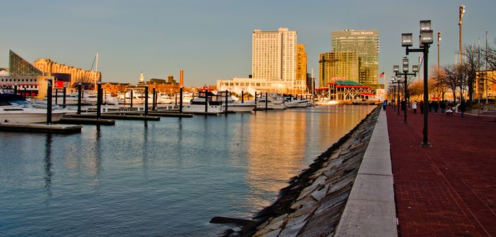Look Around The City Prior To Your Cruise From Baltimore Maryland Port Cruise Panorama