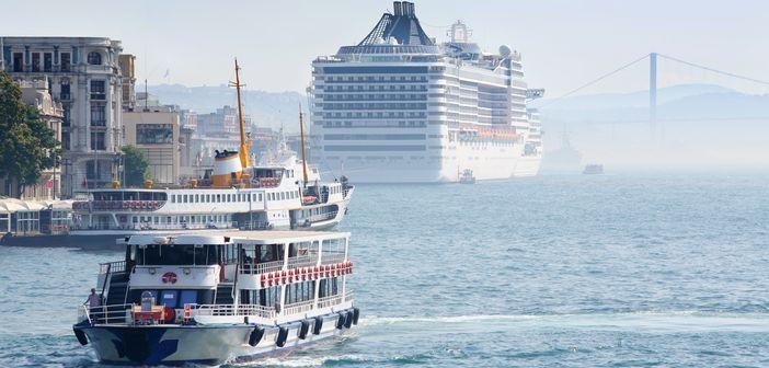 Cruise To Istanbul Turkey Cruise Panorama