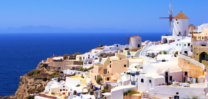 A Great Mediterranean Cruise to Santorini