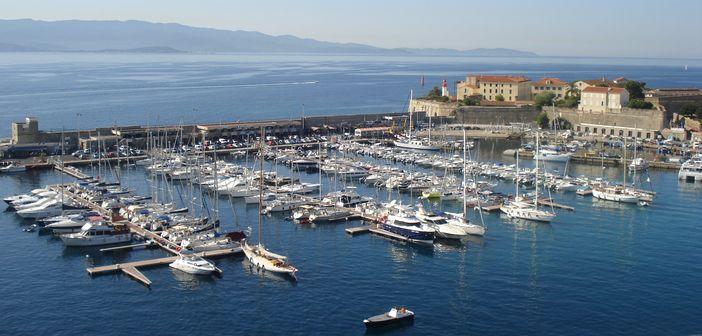 Ajaccio cruise port, Corsica