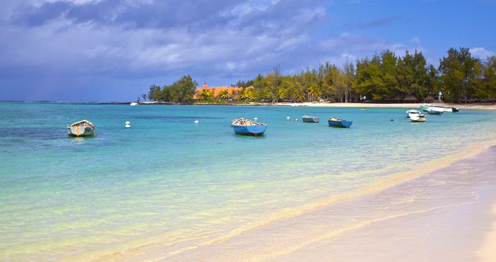 Belle Mare, Mauritius, often nominated as one of the top 10 beach destinations in the world