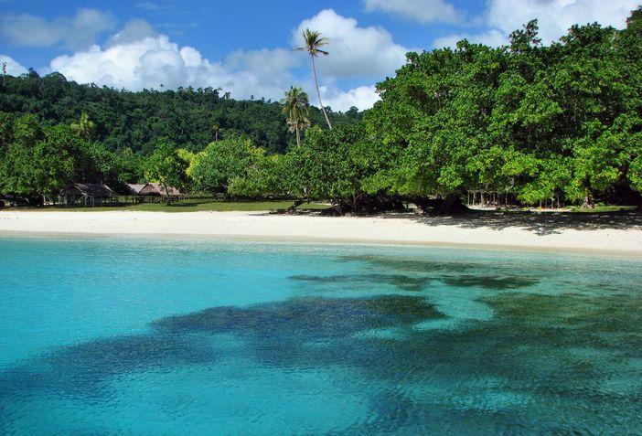 Champagne Beach at Vanuatu, South Pacific Island often called as one of the top 10 beach destinations in the world
