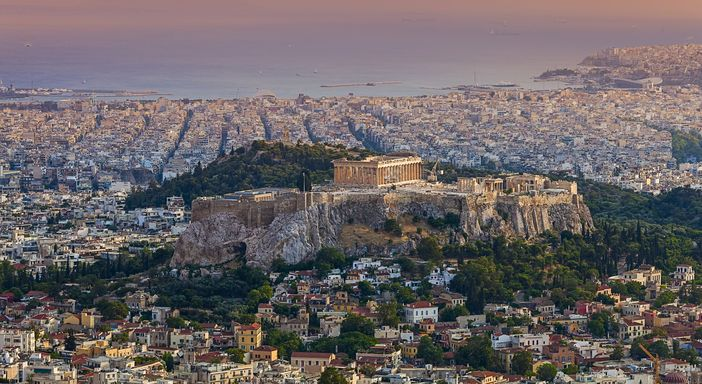 Best mediterranean cruise: Acropolis, the highest point of Athens