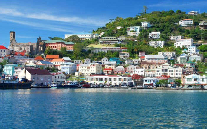 Cruise the caribbean: scenery of St George