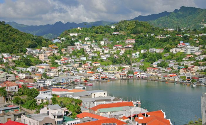 Popular cruise destinations: St George Harbor