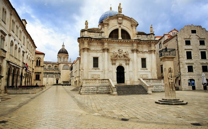 Historical monuments of Europe: Church of Saint Blaise in Dubrovnik