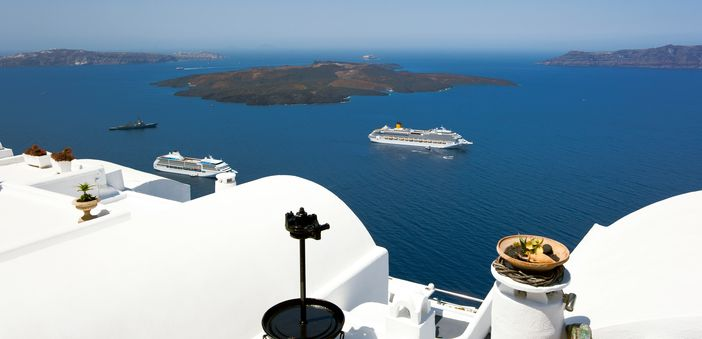Mediterranean cruise from Venice to Santorini