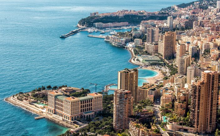 Mediterranean destinations: Monte Carlo, a popular gambling spot and one of the best venues of Formula1