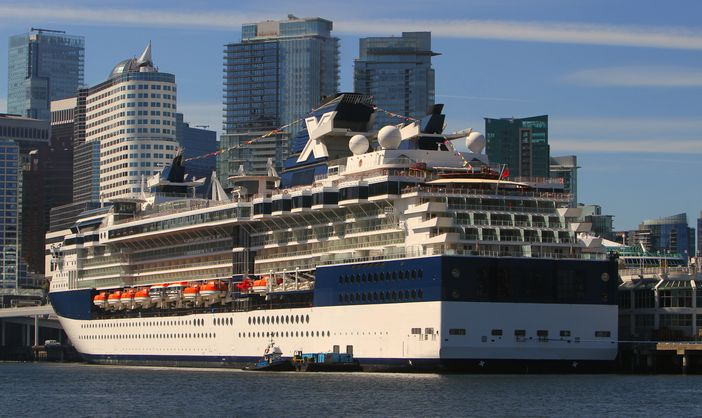 Celebrity Alaska cruises departing from Vancouver - Summit is ready for departure