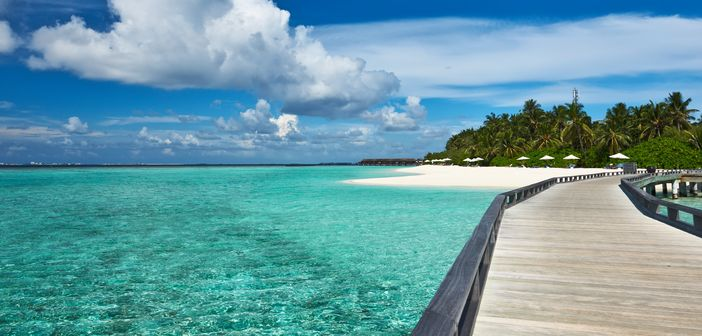 One beautiful gem of the Maldives Archipelago