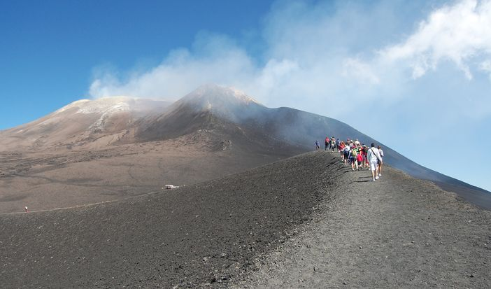 Shore excursions from the port of Messina, Sicily: Visit Mt. Etna