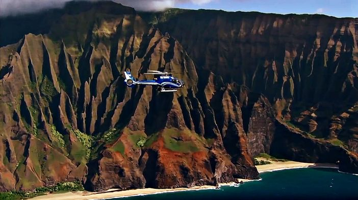 Helicopter tours in Kauai