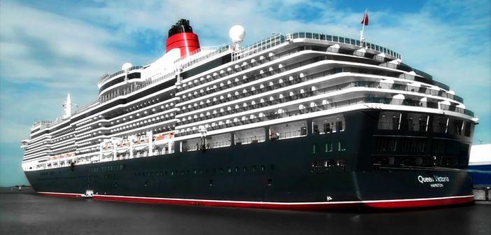 Cunard S Queen Victoria Vessel Cruise Panorama