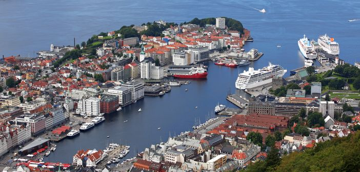 Cruising in Norway: Port of Bergen