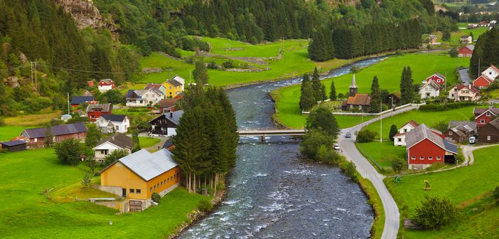 Cruising in Norway: Flam, a tiny village