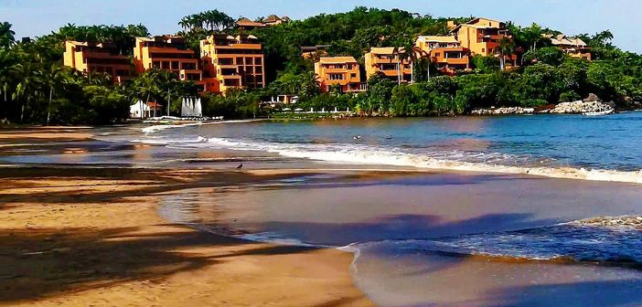 Beach in Ixtapa, Mexico