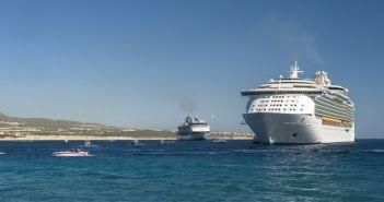 Royal Caribbean and Holland America ships visiting Cabo San Lucas