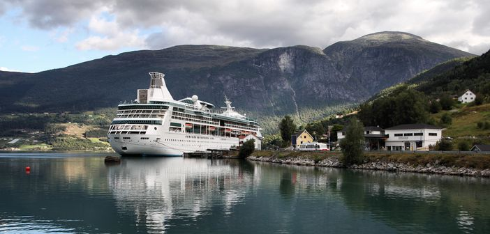 Cruising in Norway: Port of Olden