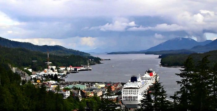 Alaska cruise vacation, Ketchikan