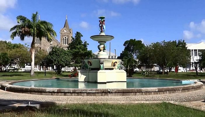 Fauntain in Basseterre