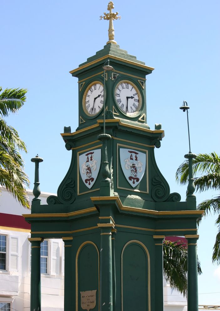 The Circus Berkeley Memorial Clock, Basseterre