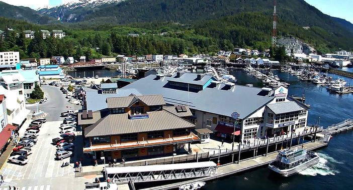 Dock 3 in Ketchikan
