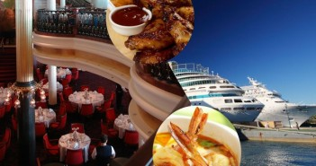 Top 10 International cuisines on cruise ships
