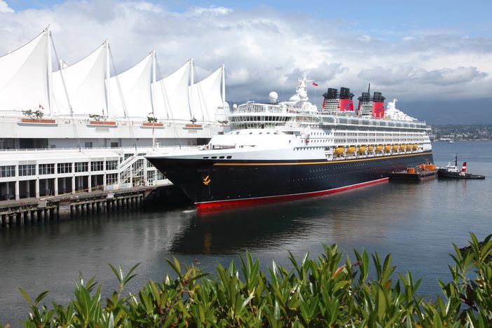 Vancouver Cruise Ship Port Cruise Panorama