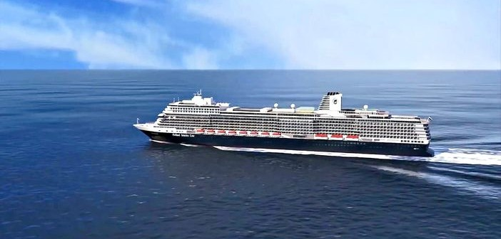 Holland America Line's ms Koningsdam cruise ship