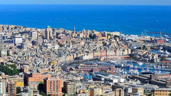 Port Of Genoa Italy A Mediterranean Cruising Stop That