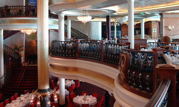Cruise Ship Crown Princess Main Dining Room