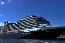 HAL cruise ship docked in Copenhagen