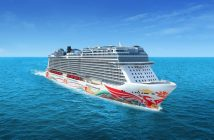 Norwegian Joy with the new Hull Artwork