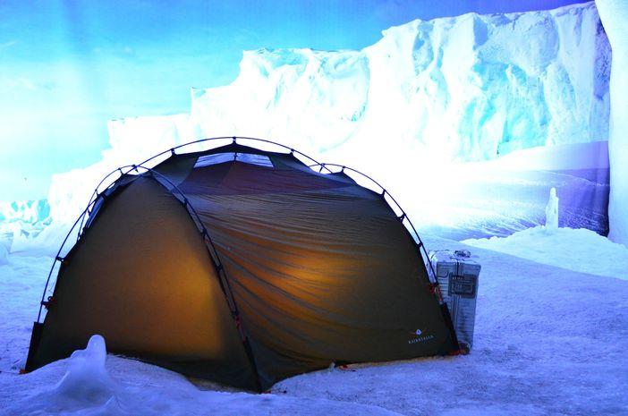 Tent in Antarctica