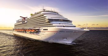 Carnival Horizon, the new Vista class ship