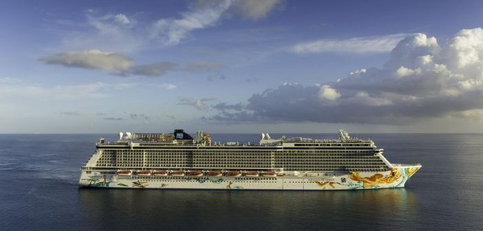 Norwegian Getaway arrives in Jamaica