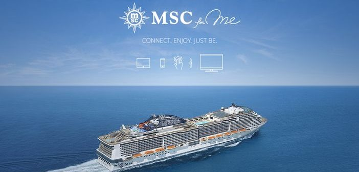 MSC Cruises' new digital program: MSC for Me