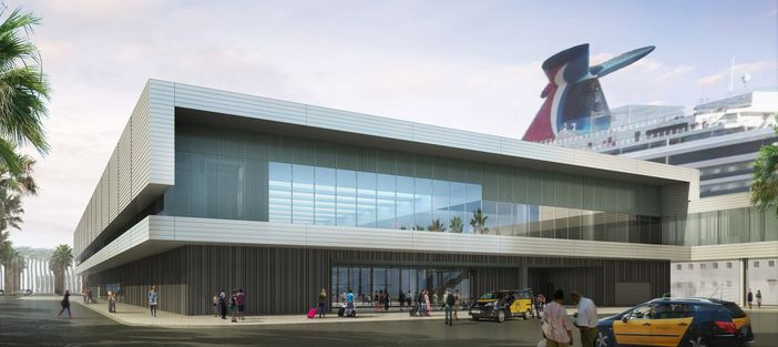 New cruise terminal in Barcelona