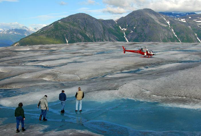 Juneau - Helicopter Glacier tour