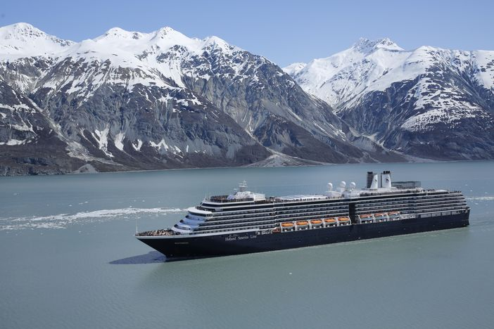 Westerdam sailing in Alaska