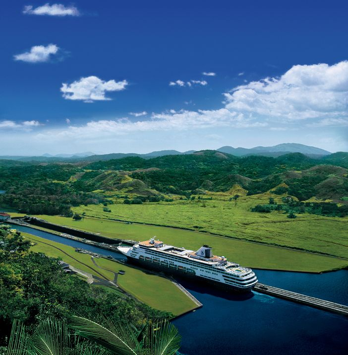 HAL ship in Panama Canal transit